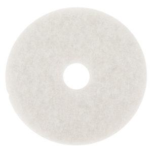 Disco para limpieza, color blanco premium de 19 pulgadas