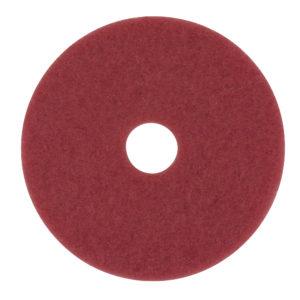 Disco para limpieza, color rojo de 19 pulgadas