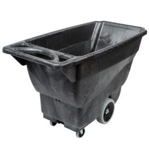 Rubbermaid FG9T1300BLA carrito de volteo color negro con capacidad para 450 lbs