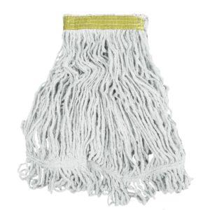 Rubbermaid FGD11106WH00 super stitch de 16 Oz color blanco con una pulgada de banda sujetadora