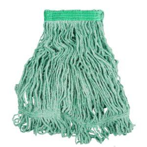 Rubbermaid FGD21106GR00 super stitch de 16 Oz color verde con una pulgada de banda sujetadora
