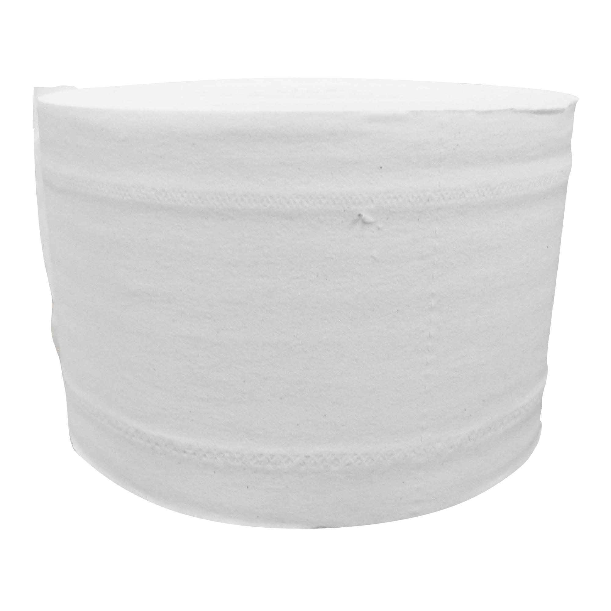 Greymoon 200-10 Higiénico institucional hoja sencilla precortada, caja con 36 rollos de 1000 hojas cada uno 3
