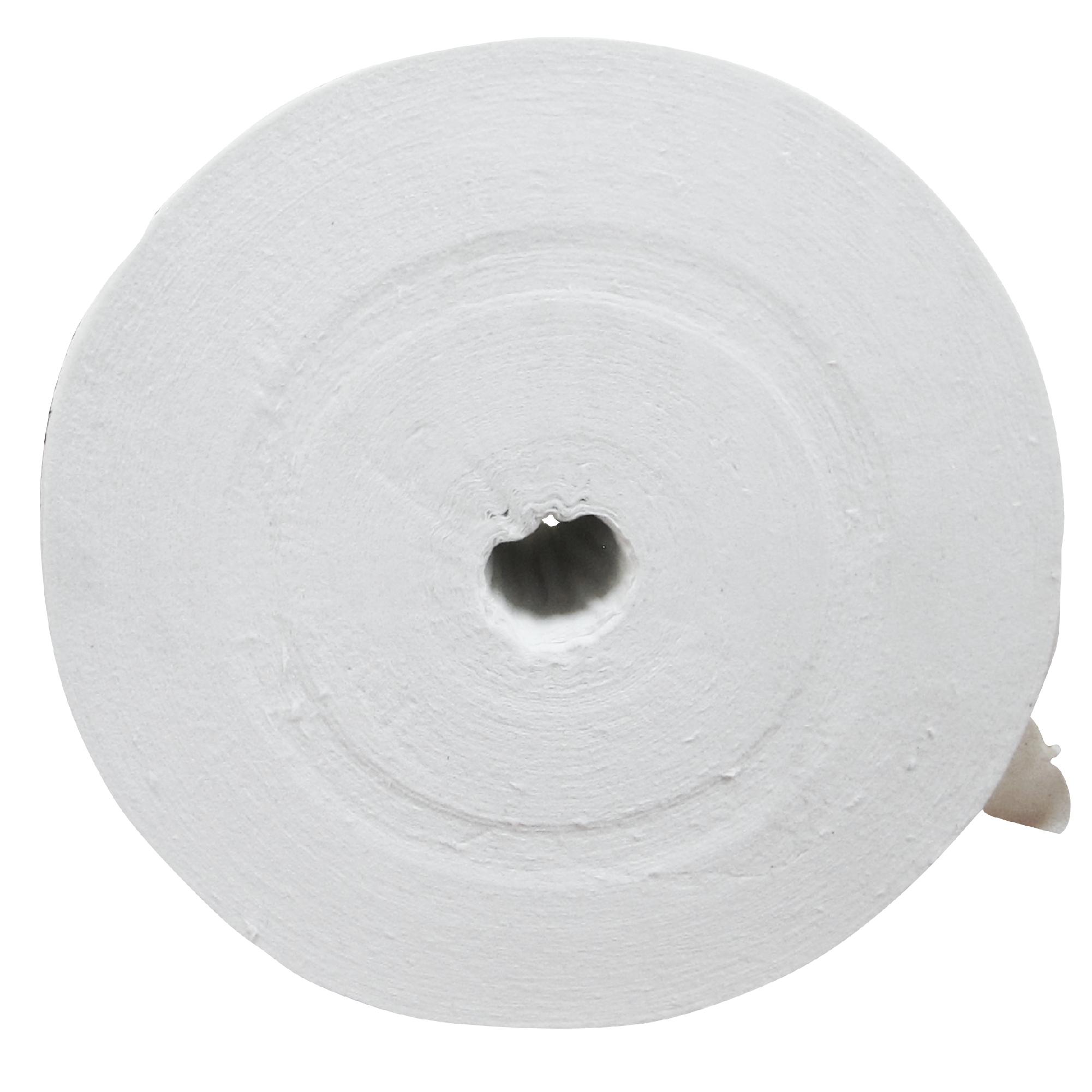 Greymoon 200-10 Higiénico institucional hoja sencilla precortada, caja con 36 rollos de 1000 hojas cada uno 4