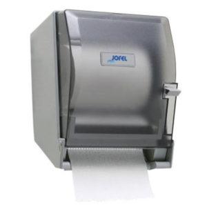 Jofel PT61010 Despachador Altera de palanca para toalla rollo, color humo