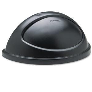 Rubbermaid FG362000BLA tapa Untouchable abatible color negro, aplica contedor FG352000