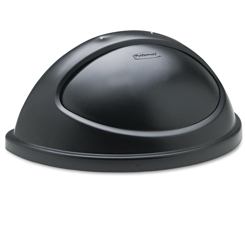 Rubbermaid FG362000BLA tapa Untouchable abatible color negro, aplica contedor FG352000 1